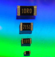 Thin Film Chip Resistors feature 15 ppm TCR.