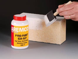 Refractory Coating handles high temperatures up to 3,200°F.
