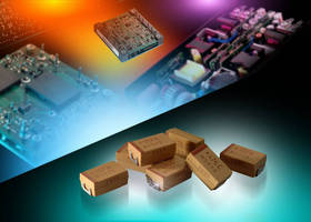 Tantalum Capacitors offer low ESR of 80 mW.