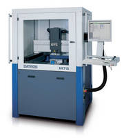 Machining Center is available with footprint of 59 x 55 in.