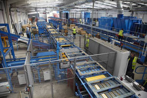 Excel Completes Turnkey Pallet Inspection & Repair Handling System for Chep Grangemouth