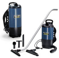 Backpack Vacuum Cleaner is suited for crew and zone cleaning.