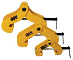 Universal Beam Clamps come in 1-10 metric rated tons.