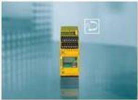 Safety Speed Monitoring Relay comes with monochrome display.