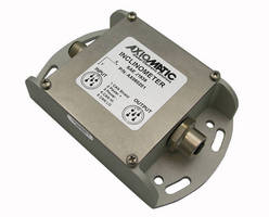 Universal Inclinometer features CANopen networking.