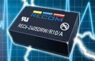 DC-DC Converters offer up to 10 kVdc isolation in DIP24 case.