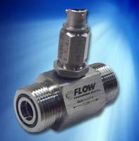 Turbine Flow Meter measures hydraulics in heavy equipment.