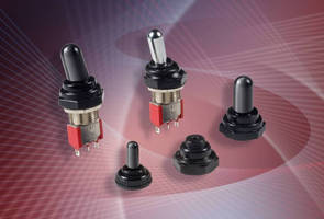Sealing Boots protect toggle switches from dust and dirt.