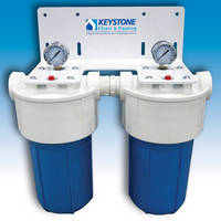 Multi-Stage Filter System filters potable water.