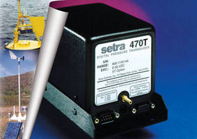 Digital Pressure Transducer targets clean dry air and gases.