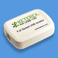USB Isolator provides peripheral isolation/host protection.