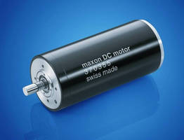 Motor Drive delivers nominal speed of 2,800-5,700 rpm.
