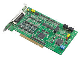 Motion Control Card suits stepping/pulse-type servo motors.