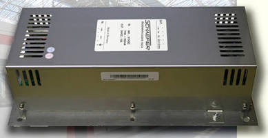DC/DC Converter accepts voltage input from 420-975 Vdc.