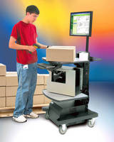 Mobile Workstation Cart with Integrated Power Supply Improves Productivity