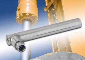 Macro Sensors Linear Position Sensors Offer Shortened Body Length, Environmental Resistance Ideal for Hydraulic Applications