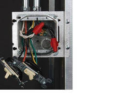 Wire Connector features round dial top for easy installation.