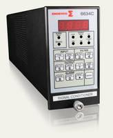 Vibration Amplifier has programmable outputs and sensitivity.