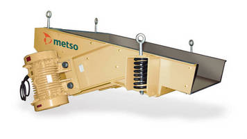 Metso Introduces Vibrabory Feeders for Aggregates Industry