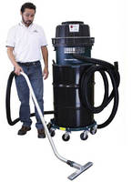 Heavy-Duty Industrial Vacuum works with ambient air.