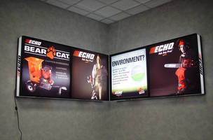 ECHO Inc. Uses Lights Alive Illuminated Display System for Its Versatility and Ease-of Use