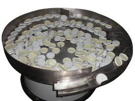 Elscint Vibratory Bowl Feeder for Large Plastic Caps