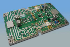 Richardson Electronics Recommends New 500 - 1000 MHz, 50W Pallet Amplifier