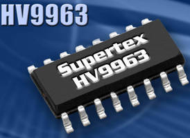 Closed Loop LED Driver IC comes with PWM dimming capability.