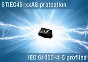 Silicon Surge Protection Diodes meet IEC61000-4-5 standard.