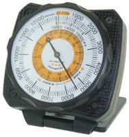 Altimeters have measuring range of 0-15,000 ft.