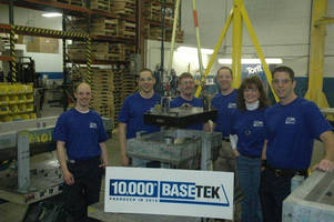 With Delivery of Its 10,000th Non-Metallic Polymer Concrete Baseplate, Basetek® LLC Achieves Industry Milestone