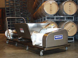 Portable Pump is designed for winery applications.