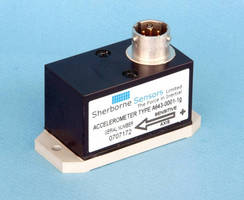 Solid State Tilt Sensors offer filtered and unfiltered outputs.