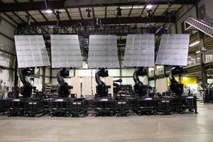 Five ABB IRB 7600 Robots Take the Stage with Bon Jovi for the Band's Historic Circle Tour