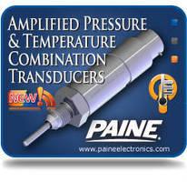 Pressure/Temperature Transducer handles extreme environments.