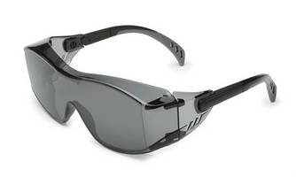 Protective Eyewear can be used over perscription glasses.