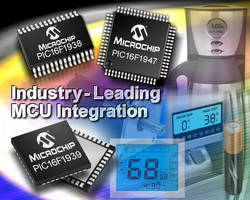 Microchip Sets New Benchmark for Low-Power Microcontrollers (MCUs); Significantly Expands Enhanced 8-bit PIC® MCU Portfolio