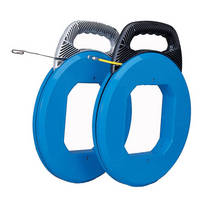 Fish Tape features impact resistant polypropylene casing.