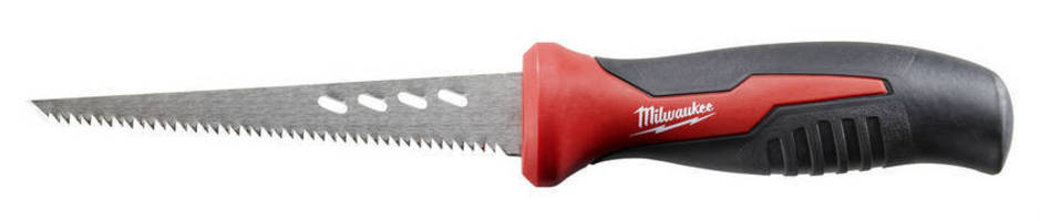 Hand Saw features rubber comfort grip.