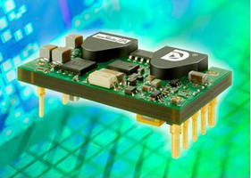 Sixteenth-Brick DC/DC Converter Combines High Power and Efficiency for Space-Constrained Designs