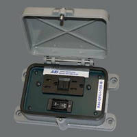 Remote Access Interface has GFCI outlet and circuit breaker.