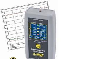 Temperature/Humidity Recorder converts analog signal to digital.