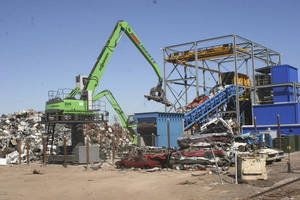 Liberty Iron & It's Affiliated Companies Prepare for Industry Rebound with Sennebogen Electric Drive Scrap Handlers