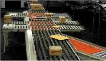 Multi-Belt Sorter handles packages weighing up to 75 lb.