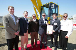 Komatsu America Corp. Recognized by City of Los Angeles for Commitment to Green Technology