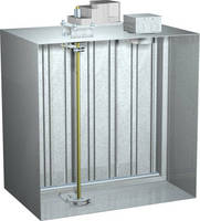 Fire Smoke Damper provides pressure rating up to 4 in. w.g.