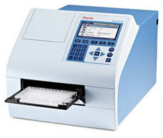 Microplate Spectrophotometer has auto power save function.
