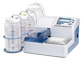 Microplate Washers are suited for ELISA and cell washing.