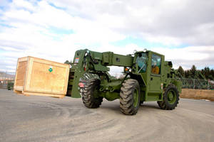 JLG Awarded ATLAS II Forklifts Contract from U.S. Army