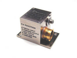 Miniature Charge Amplifiers are used with piezoelectric transducers.